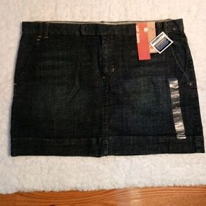 🆕List NWT Gap Denim Short Skirt Sz 14
